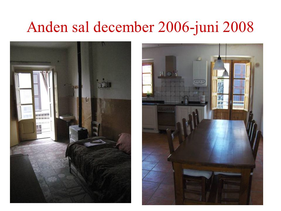 Anden sal december 2006-juni 2008