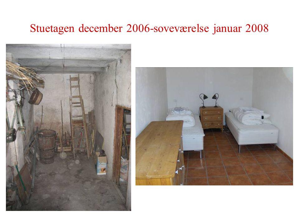 Stuetagen december 2006-soveværelse januar 2008