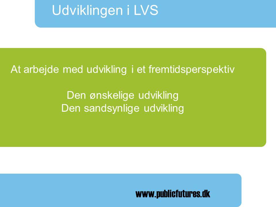 Udviklingen i LVS Landsforeningen af Væresteder Landsmødet 2008