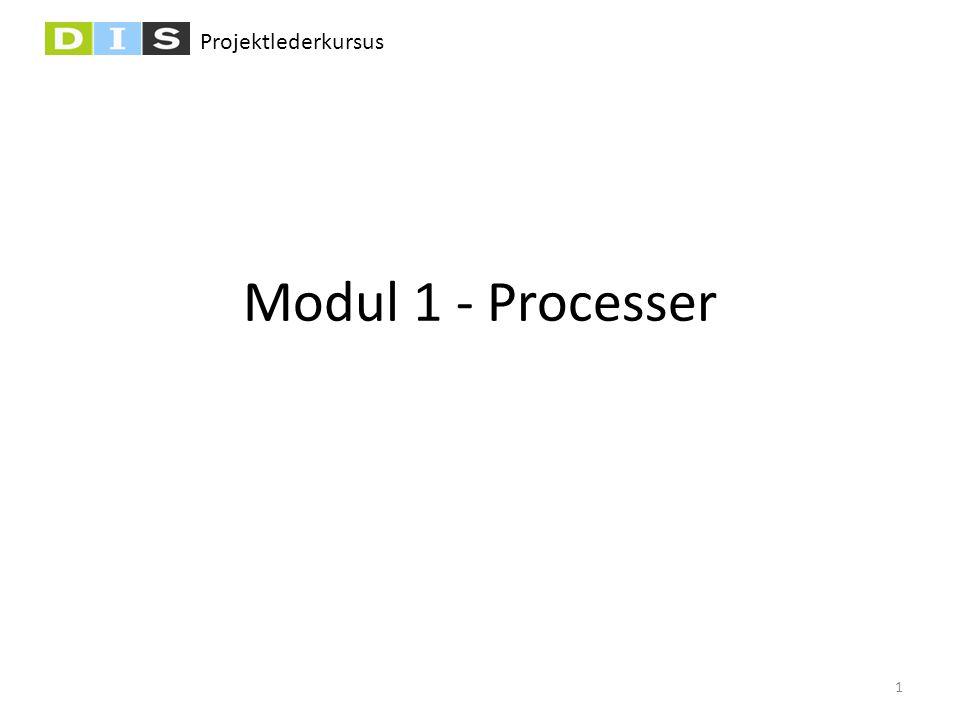 Projektlederkursus Modul 1 - Processer 1