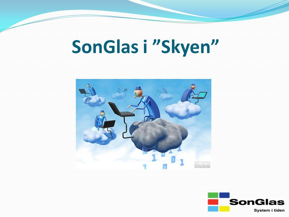 SonGlas i Skyen