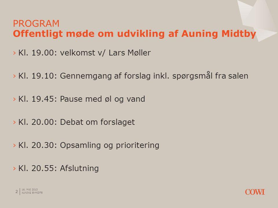 2 ›Kl. 19.00: velkomst v/ Lars Møller ›Kl. 19.10: Gennemgang af forslag inkl.