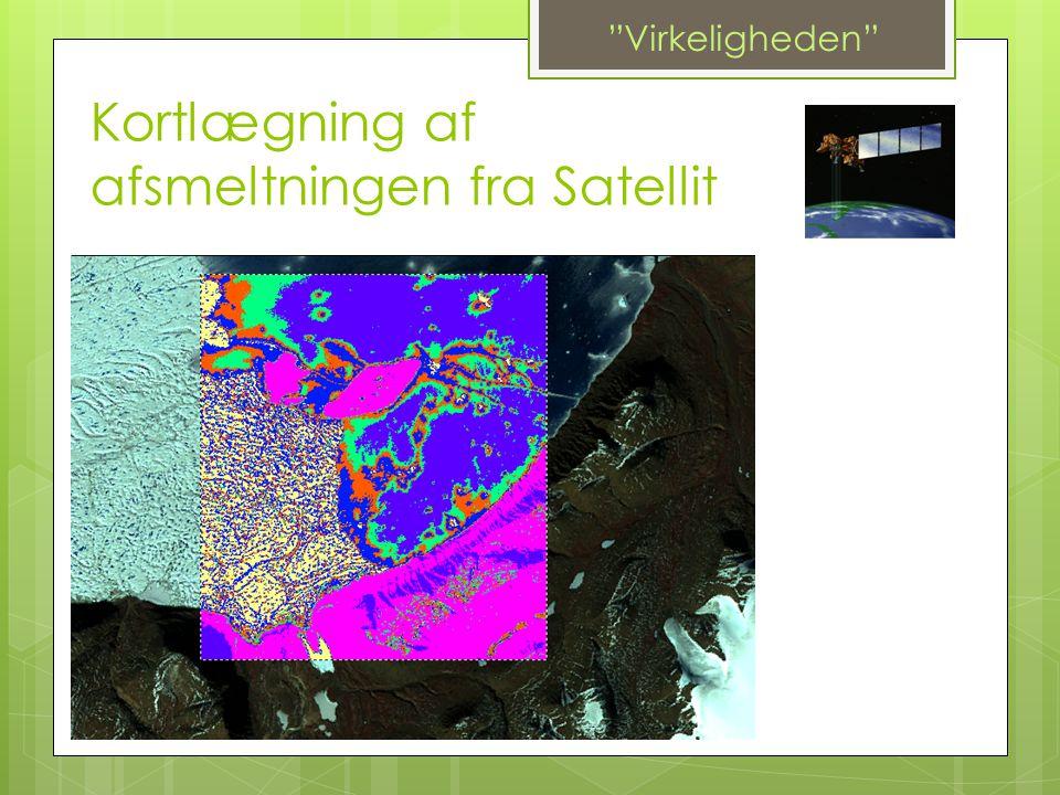 """Kortlægning af afsmeltningen fra Satellit """"Virkeligheden"""""""