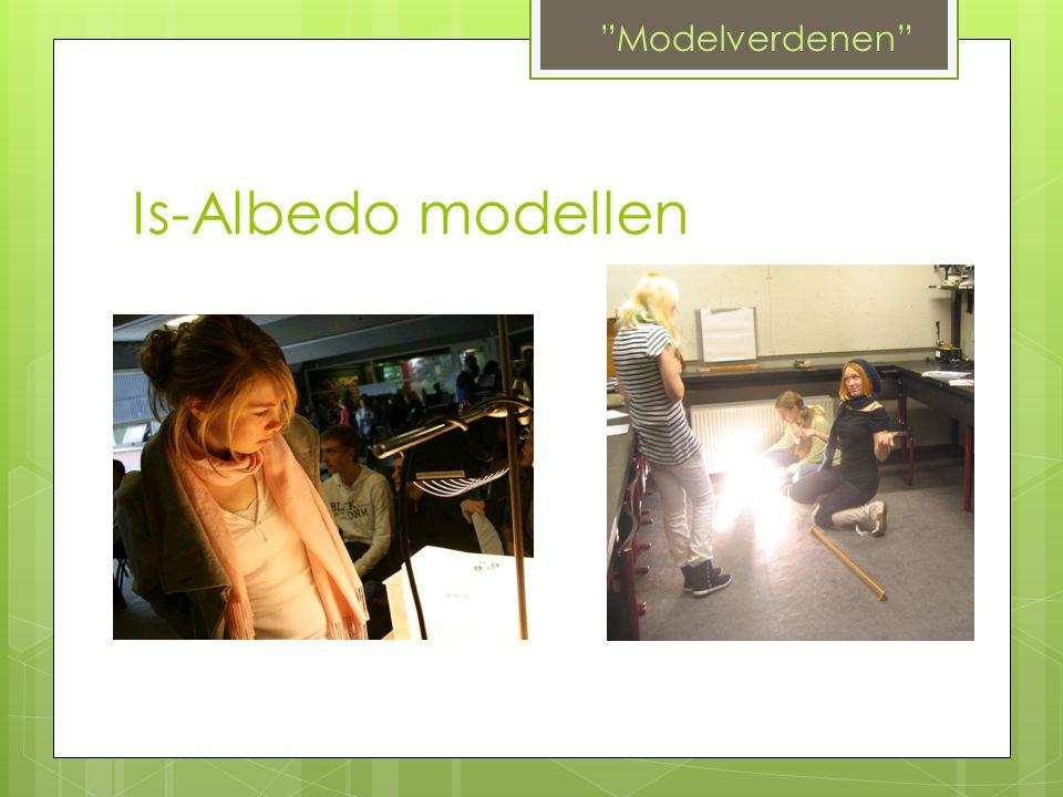 """Is-Albedo modellen """"Modelverdenen"""""""