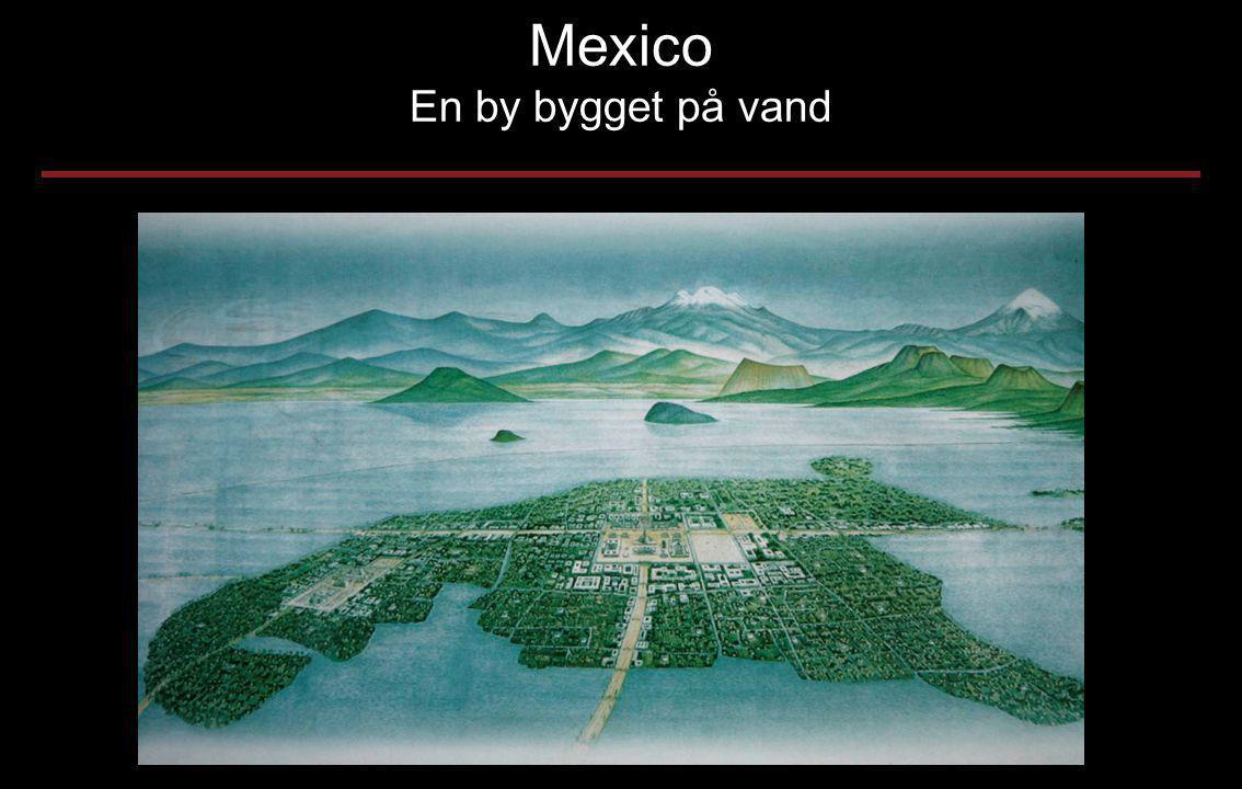 Mexico En by bygget på vand