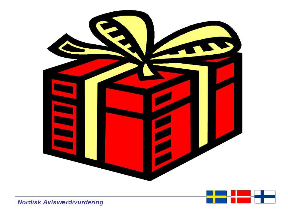 Nordisk Avlsværdivurdering NAV Avlsværdital for ydelse