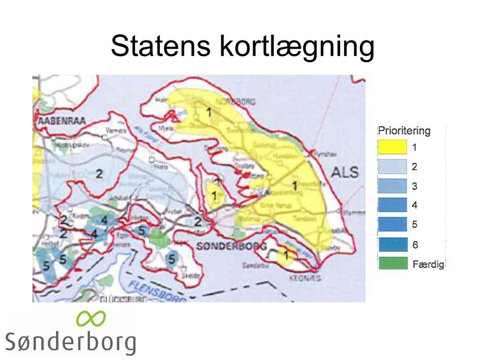 Statens kortlægning