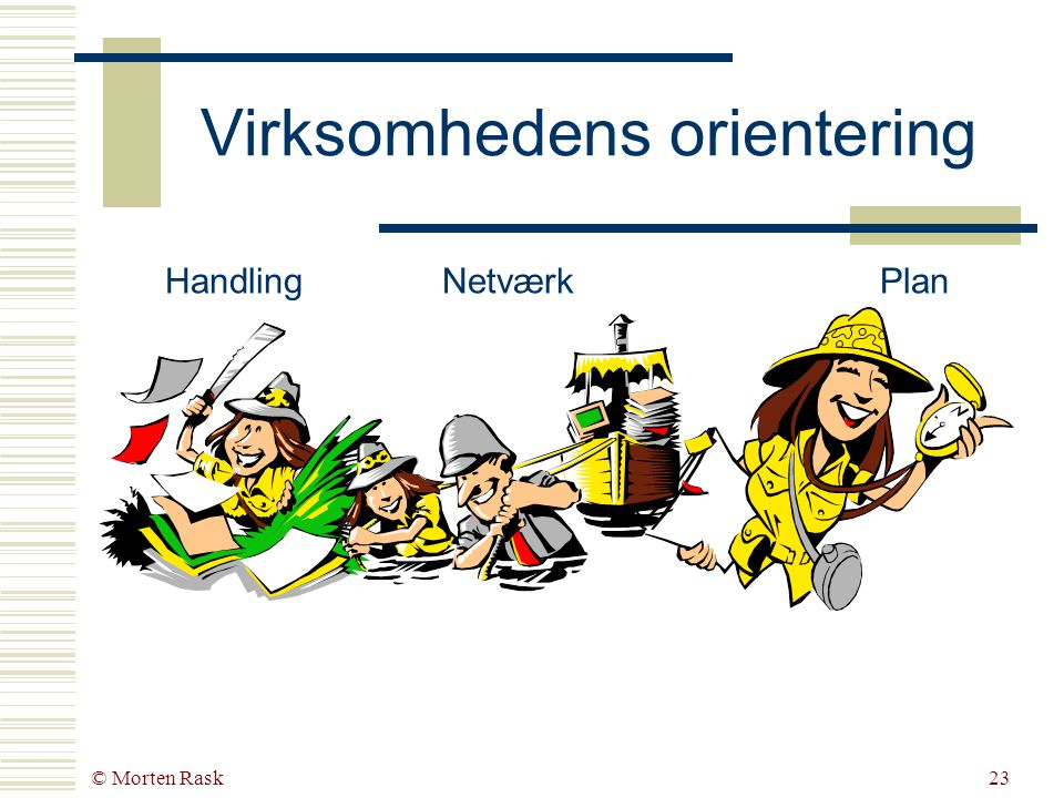 © Morten Rask22 Distribueret Tænkning og Decentraliseret Handling Baran, P.