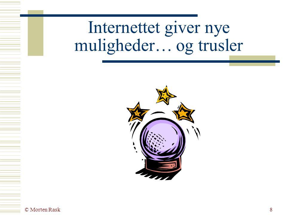 © Morten Rask7 De fleste danske virksomheder er mus&mørtel virksomheder  Kilder: Forskningsministeriet