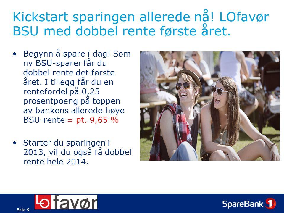 Side 10 LOfavør Boliglån UNG – rabatt på boliglån og fri etablering.