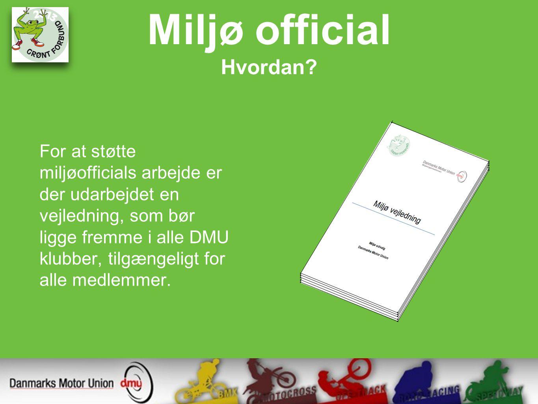Miljø official Hvordan.