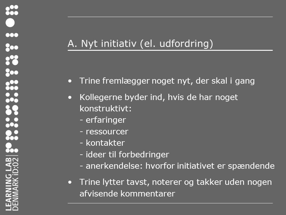 A.Nyt initiativ (el.
