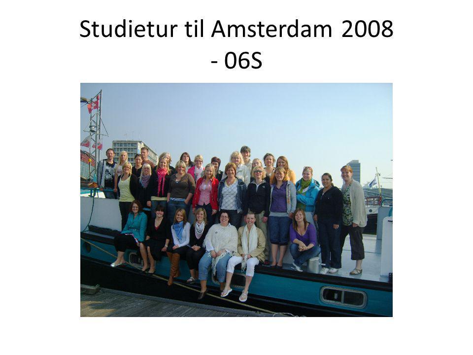 Studietur til Amsterdam 2008 - 06S