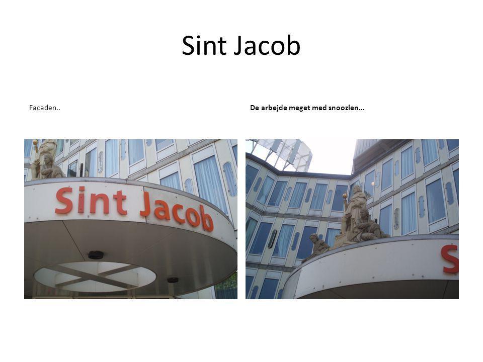 Sint Jacob Facaden..De arbejde meget med snoozlen…