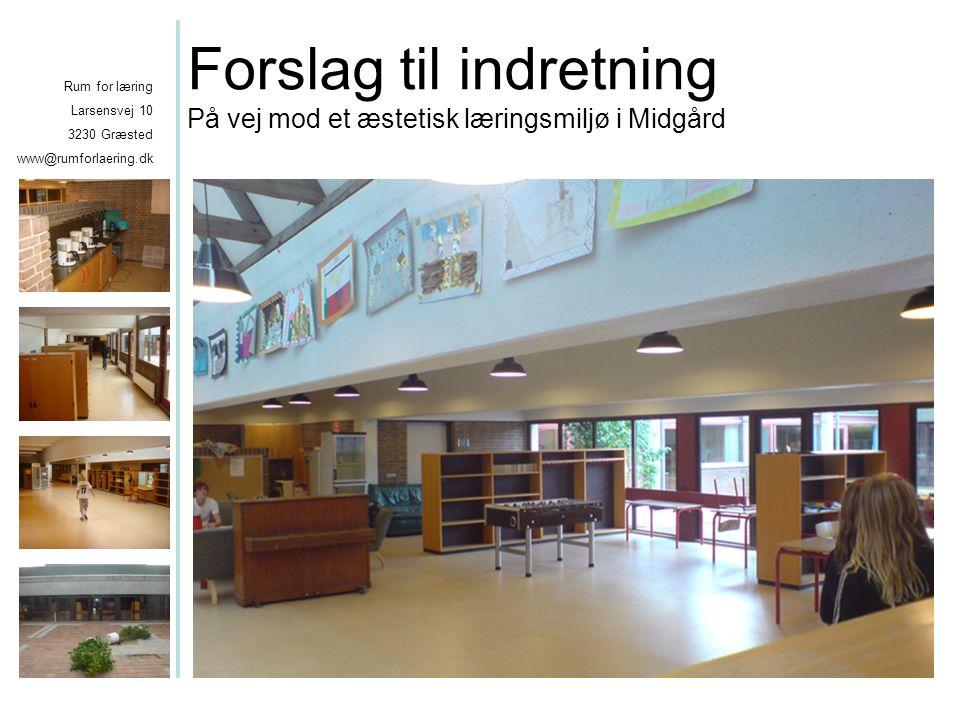 Rum for læring larsensvej 10 3230 græsted www@rumforlaering.dk ...