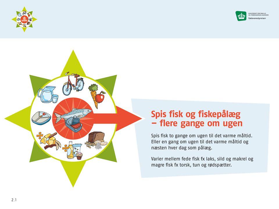 Hvor meget fisk på en uge? - som koldt og varmt måltid 2.4