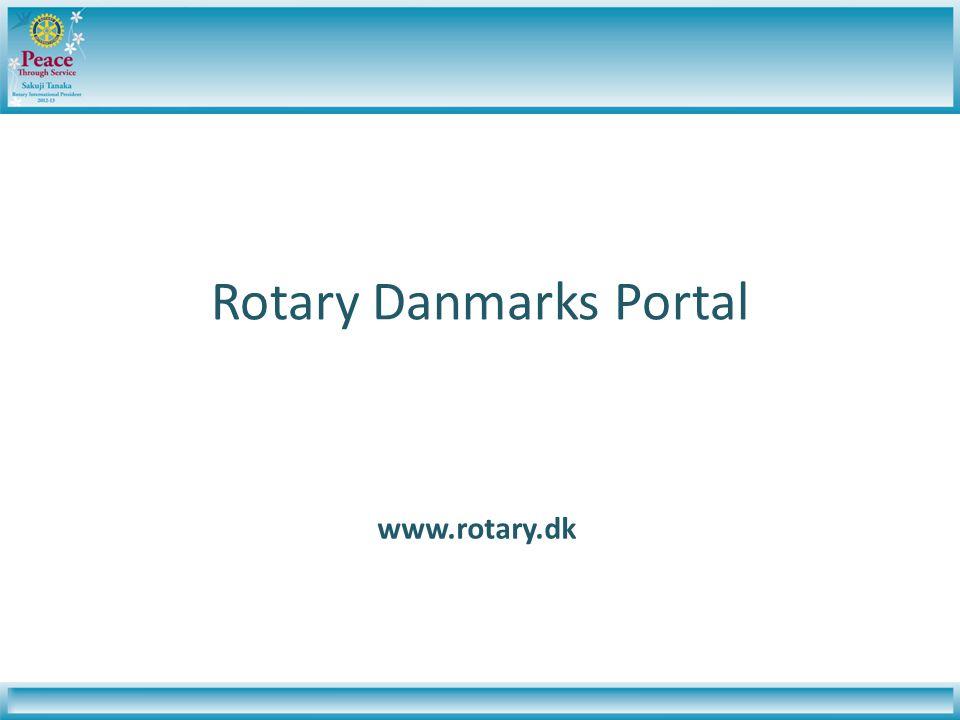 Rotary Danmarks Portal www.rotary.dk