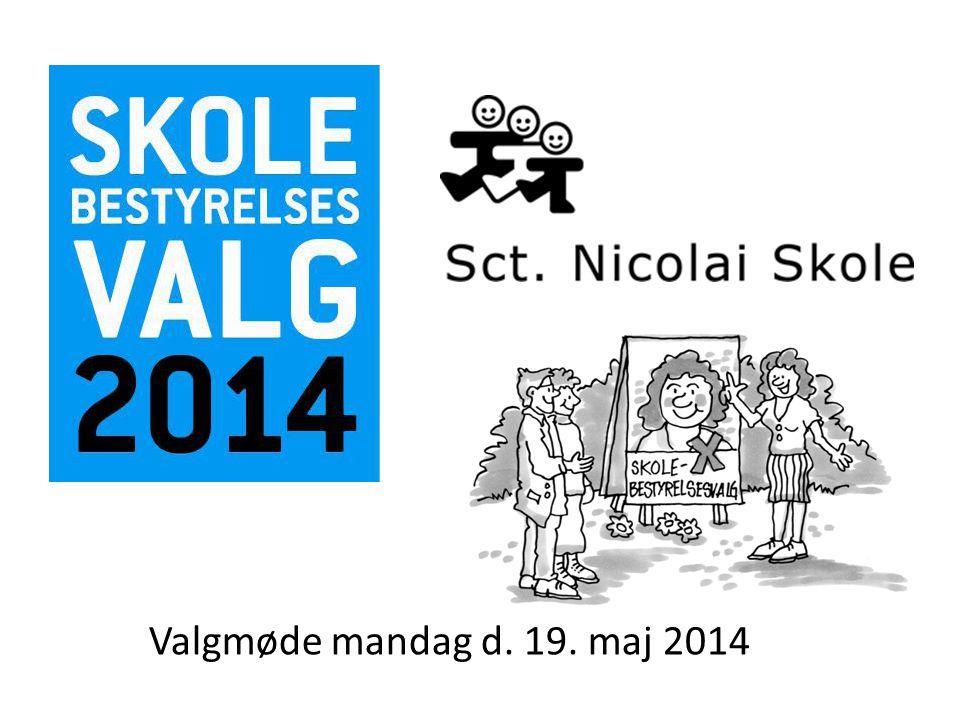 Valgmøde mandag d. 19. maj 2014