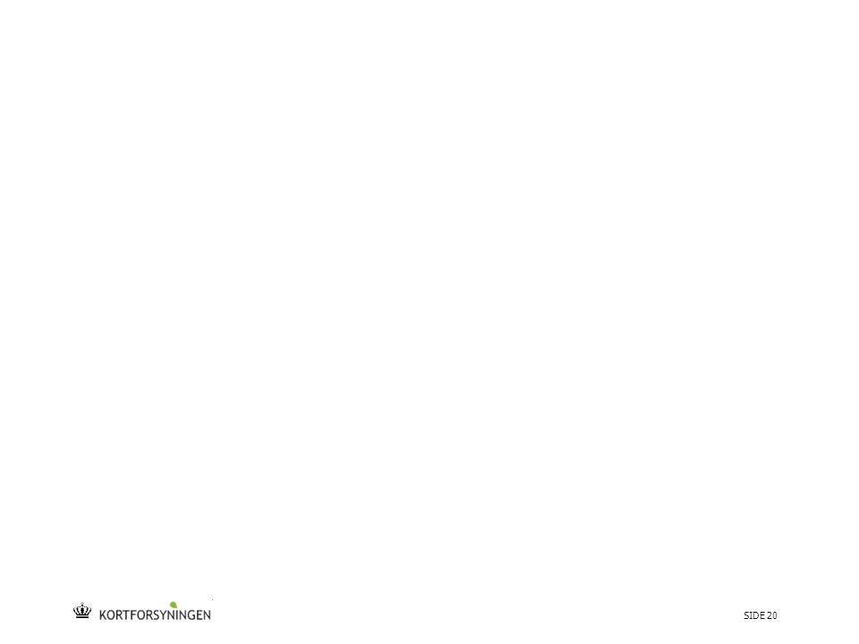 Tekst starter uden punktopstilling For at få punktopstilling på teksten (flere niveauer findes), brug >Forøg listeniveau- knappen i Topmenuen For at få venstrestillet tekst uden punktopstilling, brug >Formindsk listeniveau- knappen i Topmenuen SIDE 20