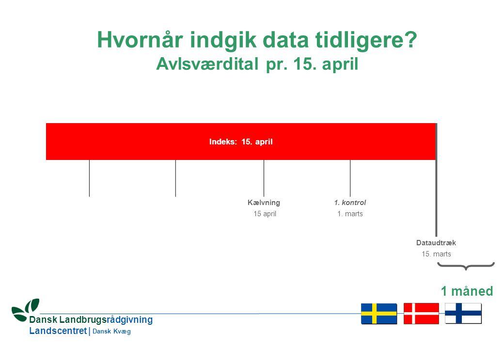 16 Dansk Landbrugsrådgivning Landscentret | Dansk Kvæg Indeks: 15.