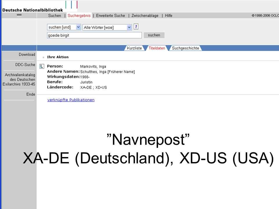 Niels JensenFABITA40 Navnepost XA-DE (Deutschland), XD-US (USA)
