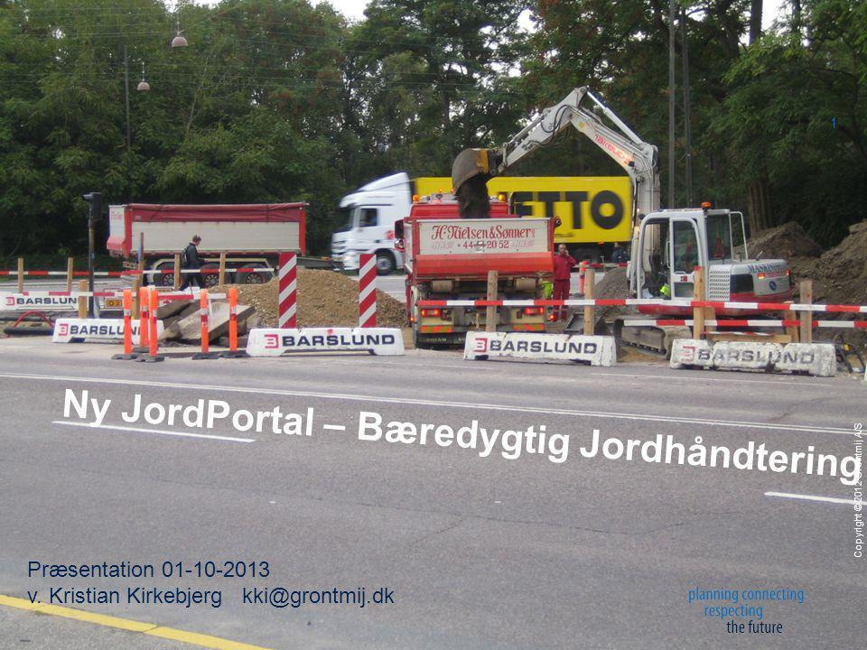 Copyright © 2012 Grontmij A/S 1 Præsentation 01-10-2013 v.