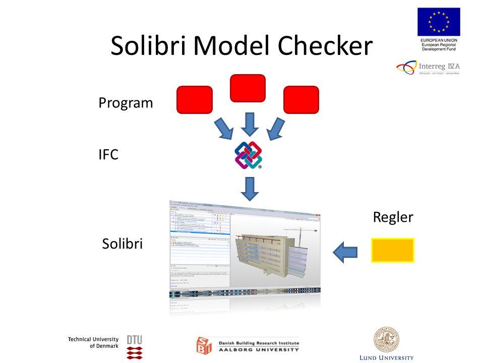 Solibri Model Checker Program Solibri IFC Regler