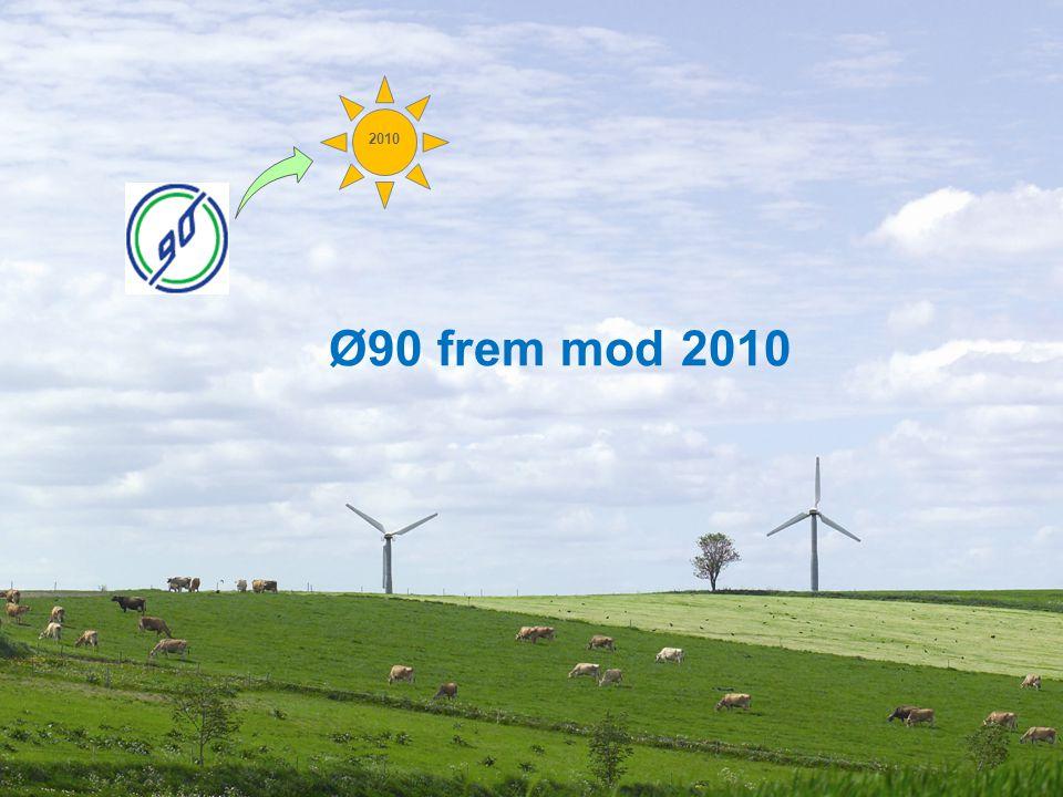 Dansk Landbrugsrådgivning Ø90 frem mod 2010 2010