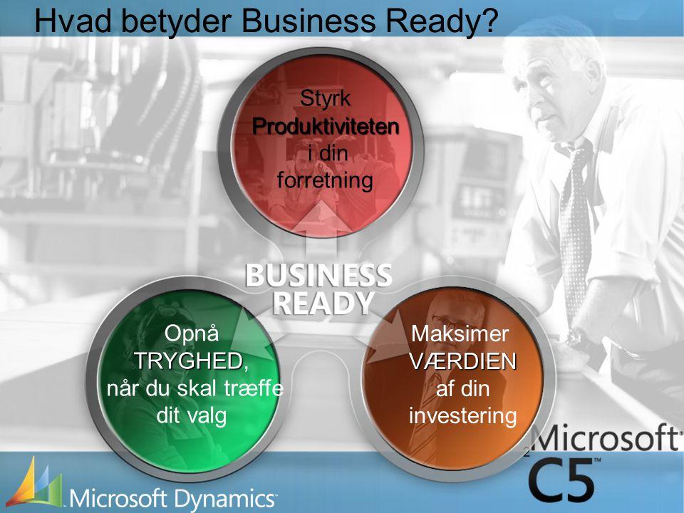 2 Hvad betyder Business Ready.