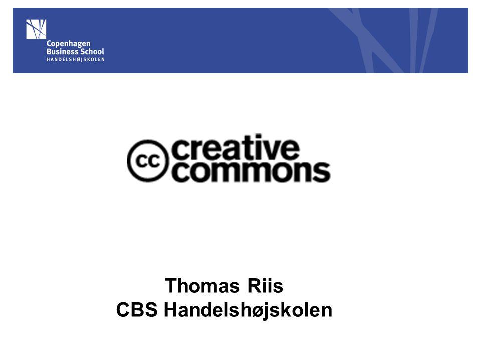 Thomas Riis CBS Handelshøjskolen