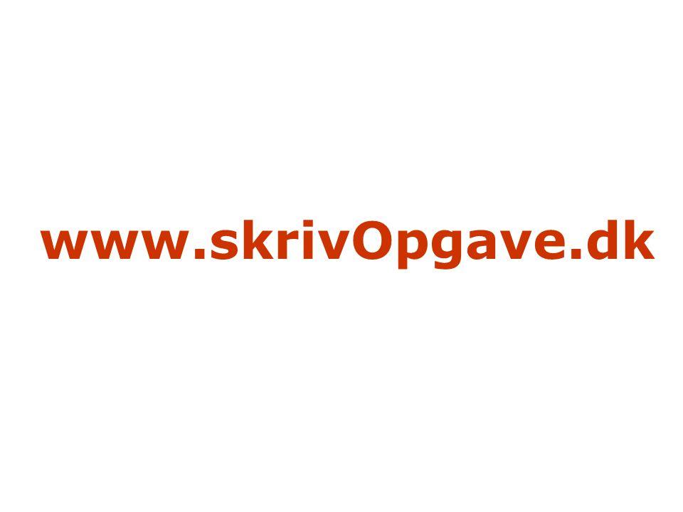 www.skrivOpgave.dk
