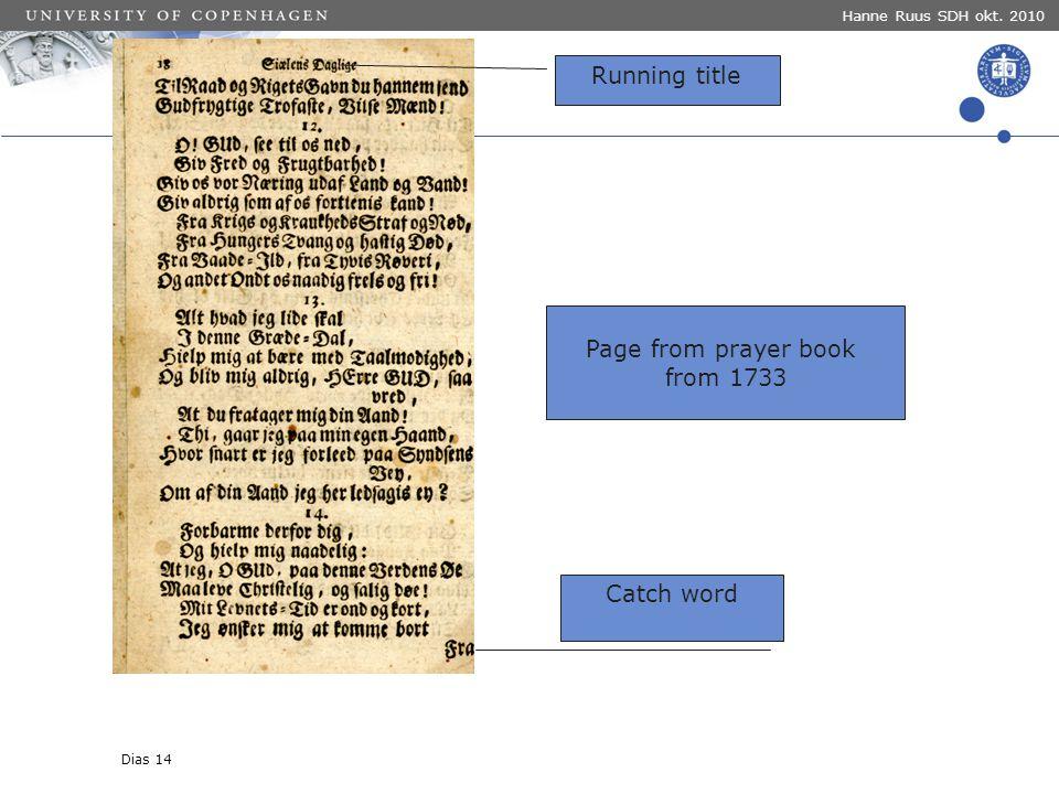 Overskrift her Navn på oplægsholder Navn på KU- enhed For at ændre Enhedens navn og Sted og dato : Klik i menulinjen, vælg Indsæt > Sidehoved / Sidefod .