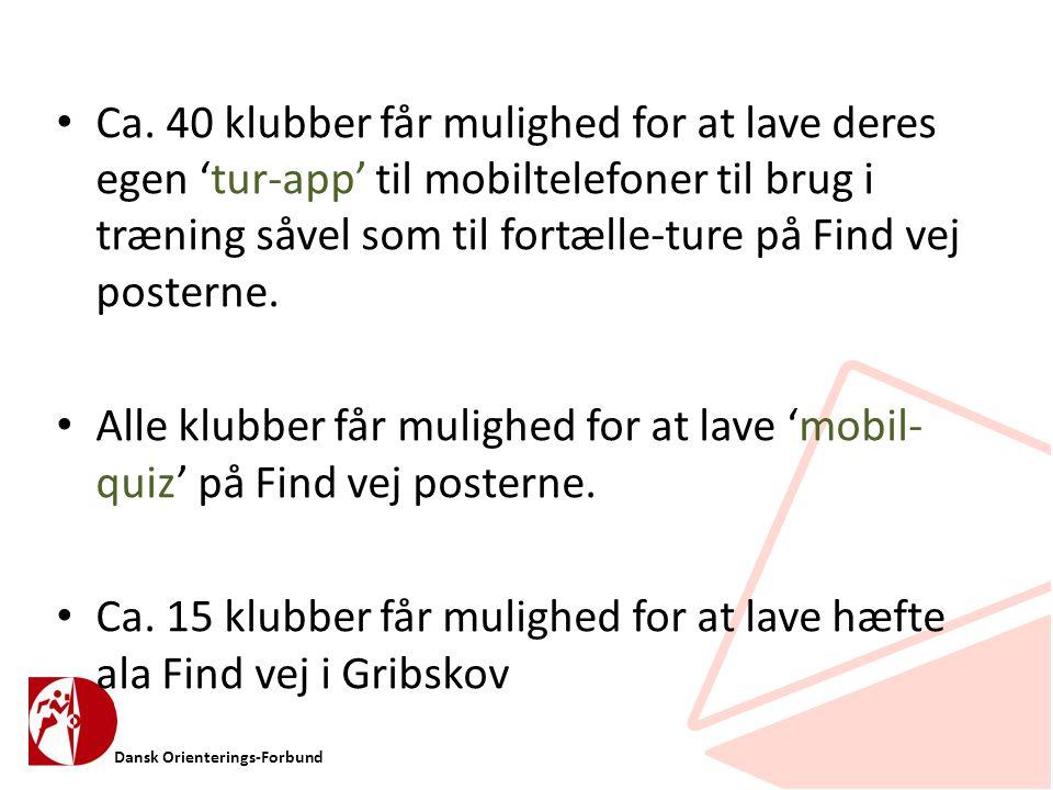 Dansk Orienterings-Forbund • Ca.