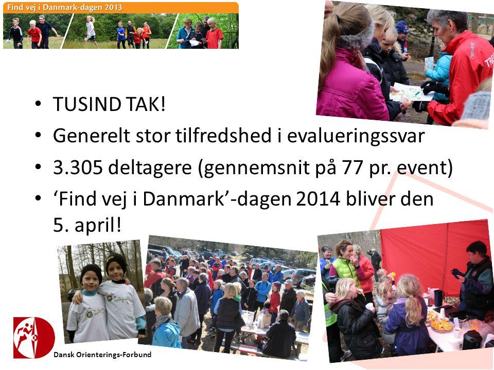 Dansk Orienterings-Forbund • TUSIND TAK.