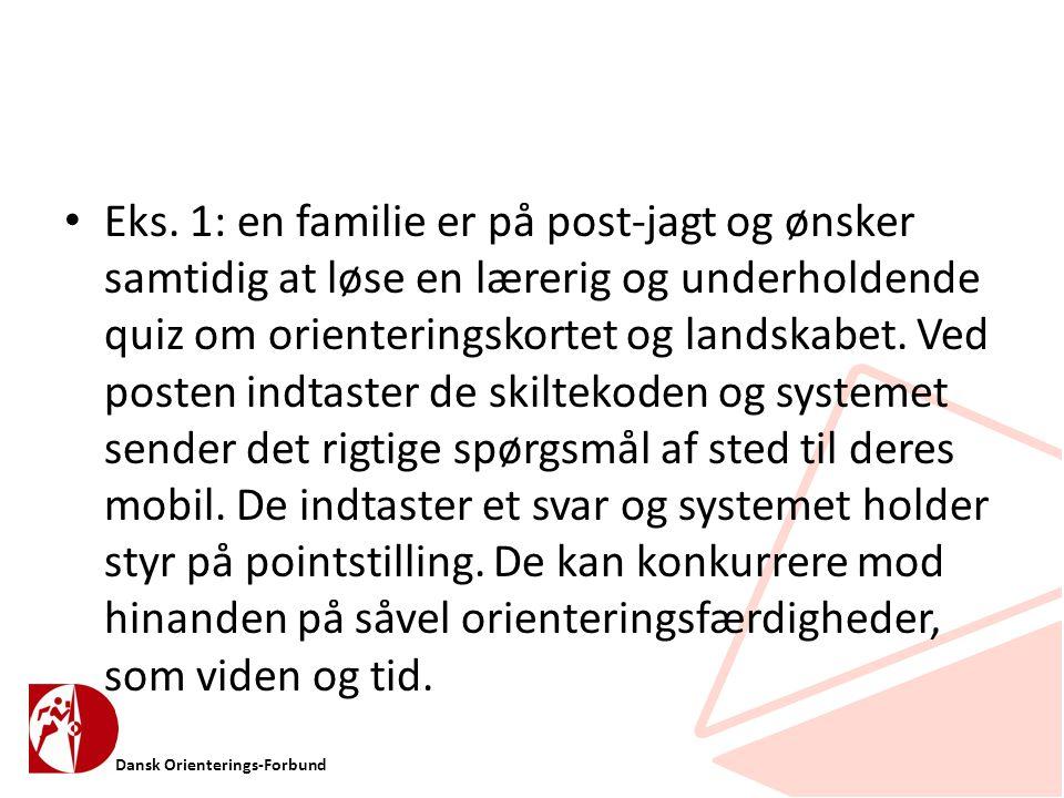 Dansk Orienterings-Forbund • Eks.