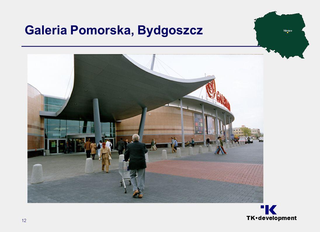 TK•development 12 Galeria Pomorska, Bydgoszcz