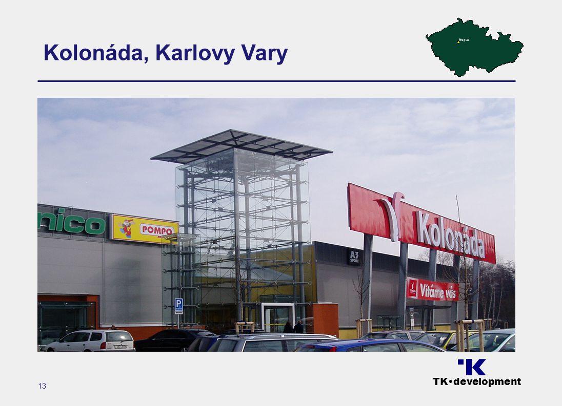 TK•development 13 Kolonáda, Karlovy Vary