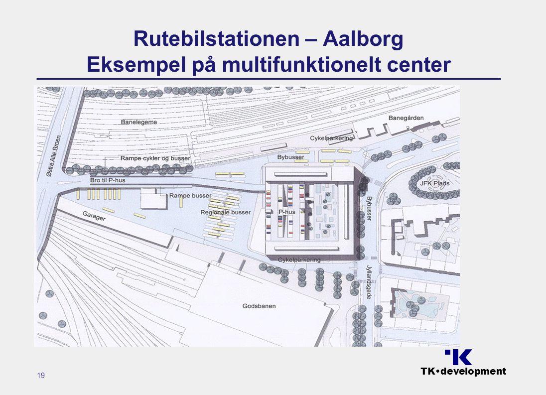 TK•development 19 Rutebilstationen – Aalborg Eksempel på multifunktionelt center