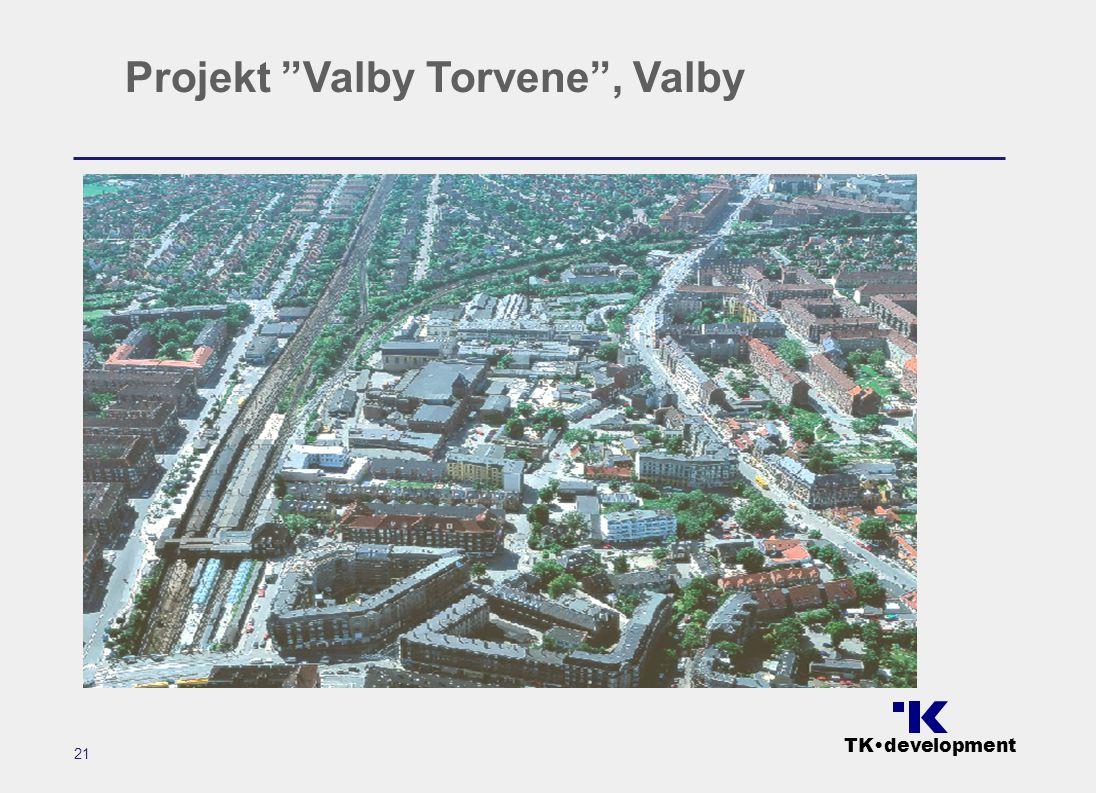 TK•development 21 Projekt Valby Torvene , Valby
