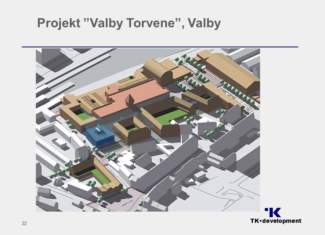 TK•development 22 Projekt Valby Torvene , Valby