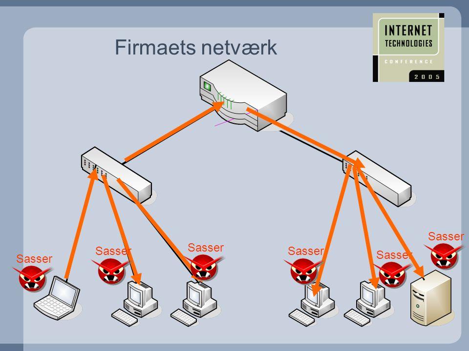 Firmaets netværk Sasser