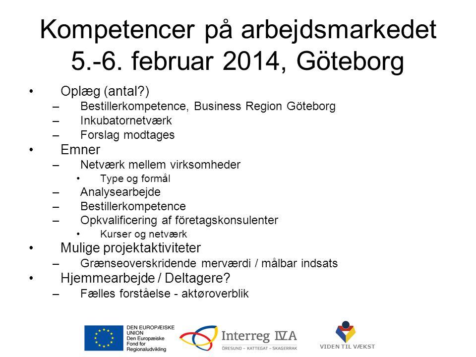 VIDEN TIL VÆKST Kompetencer på arbejdsmarkedet 5.-6.