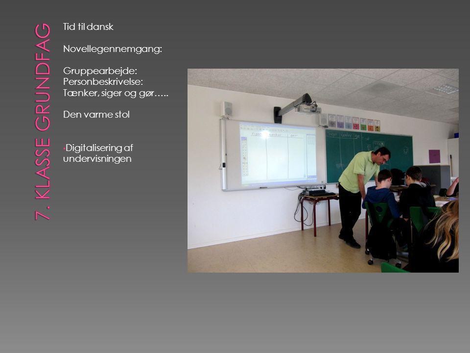 Tid til dansk Novellegennemgang: Gruppearbejde: Personbeskrivelse: Tænker, siger og gør…..