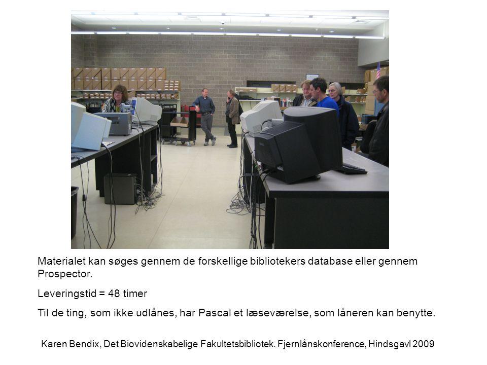 Materialet kan søges gennem de forskellige bibliotekers database eller gennem Prospector.