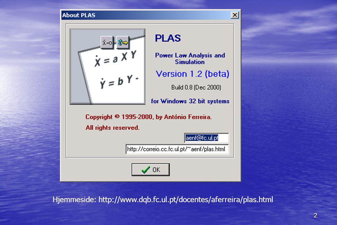 2 Hjemmeside: http://www.dqb.fc.ul.pt/docentes/aferreira/plas.html