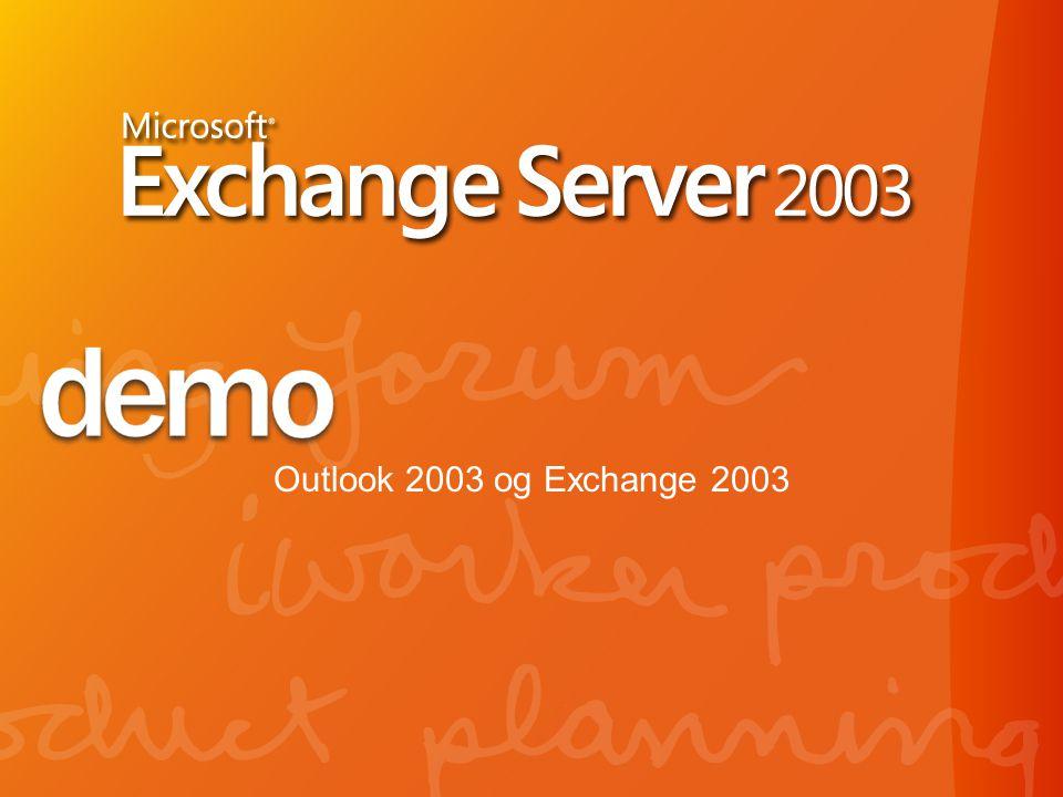 Outlook 2003 og Exchange 2003