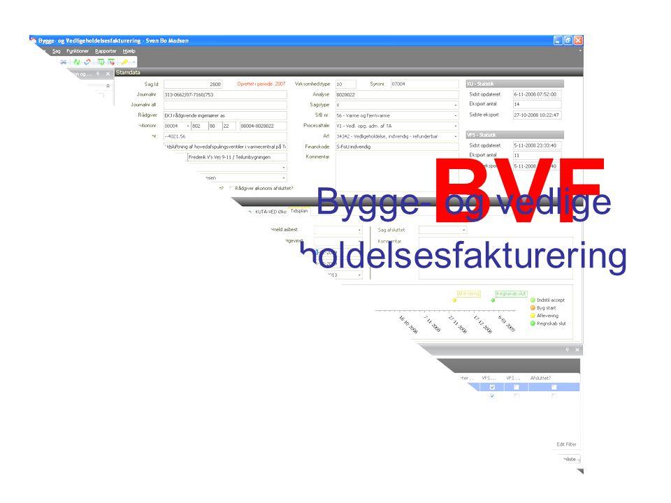 BVF Bygge- og vedlige holdelsesfakturering