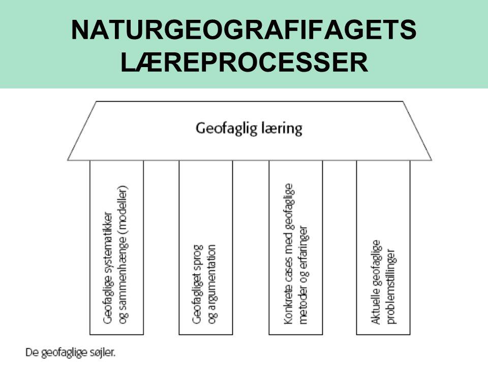 NATURGEOGRAFIFAGETS LÆREPROCESSER