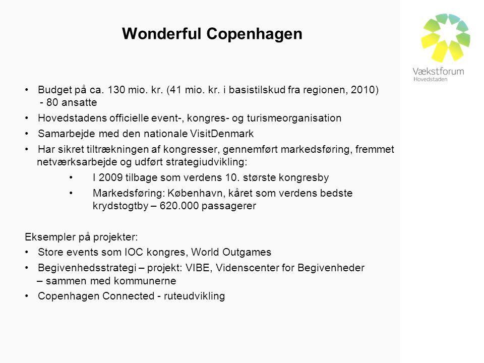Wonderful Copenhagen • Budget på ca. 130 mio. kr.