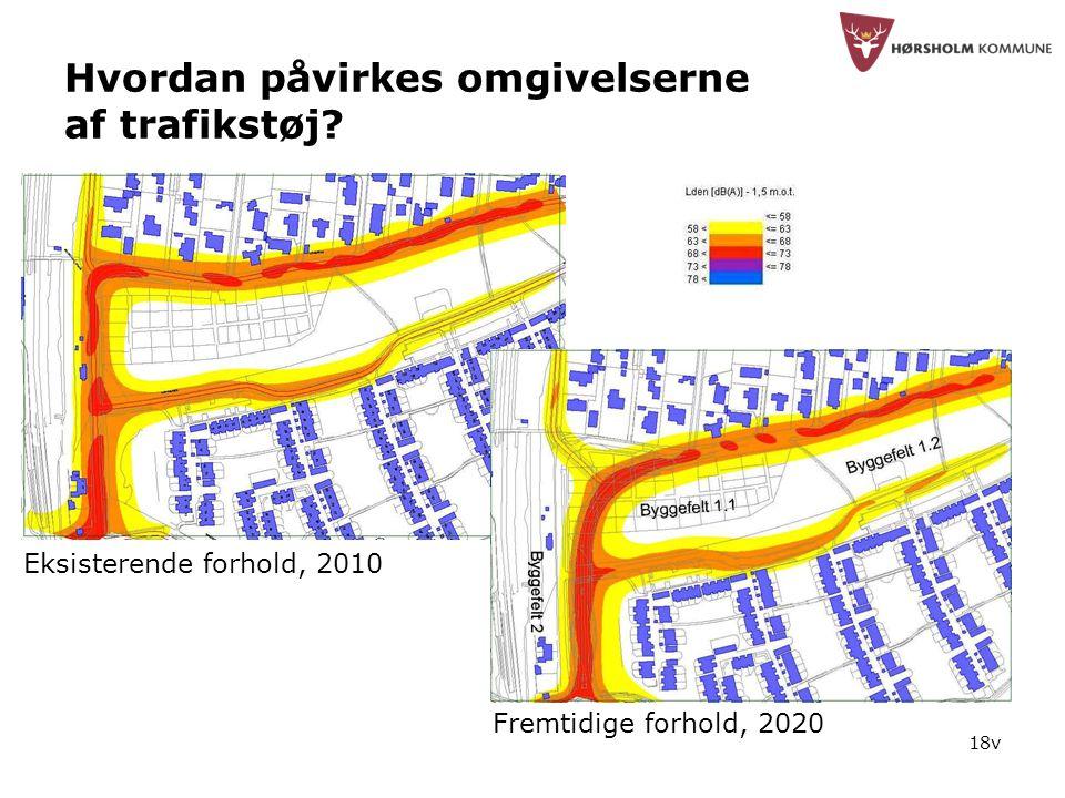 18v Hvordan påvirkes omgivelserne af trafikstøj.